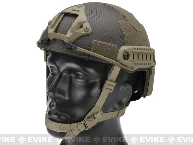 Emerson Bump Type Tactical Airsoft Helmet (MICH Ballistic Type / Advanced / Navy Seal)