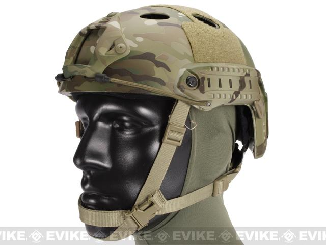 Emerson Bump Type Tactical Airsoft Helmet (Type: PJ / Advanced / Multicam B)