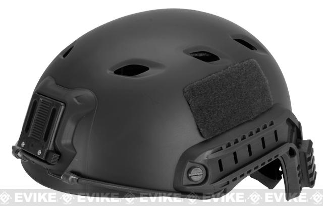 z Base Jump Military Style Tactical Airsoft Helmet Type A - Black