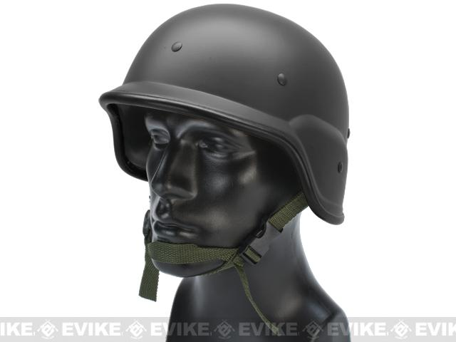 Avengers Heavy Duty PASGT Airsoft Helmet - Black