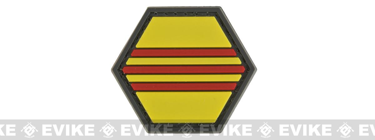 Operator Profile PVC Hex Patch Flag Series (Country: South Vietnam)