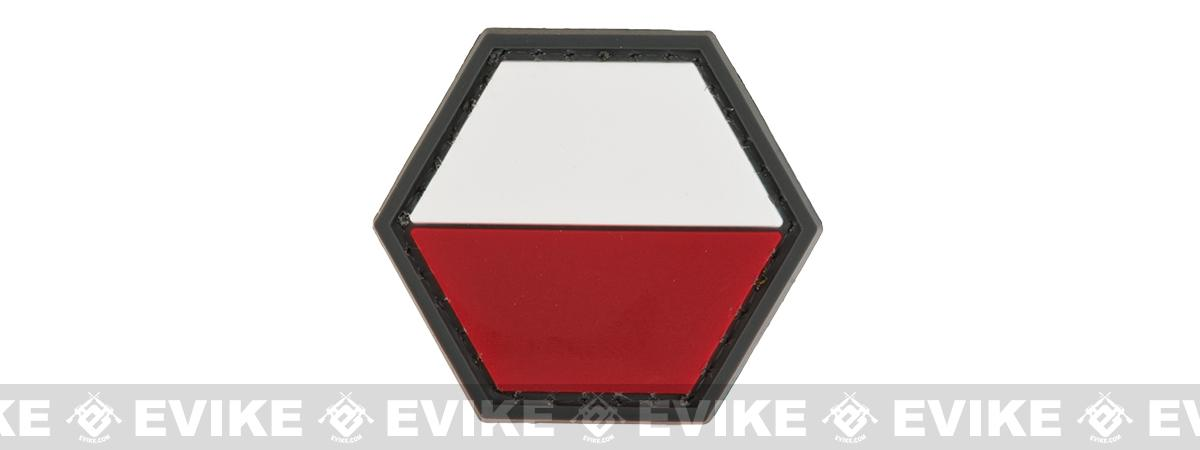 Operator Profile PVC Hex Patch Flag Series (Country: Poland)