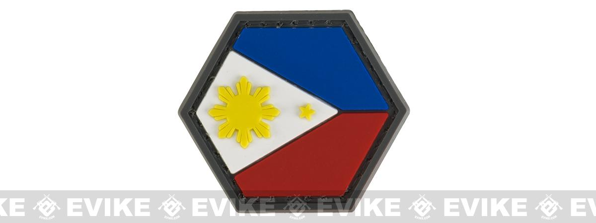 Operator Profile PVC Hex Patch Flag Series (Country: Philippines)