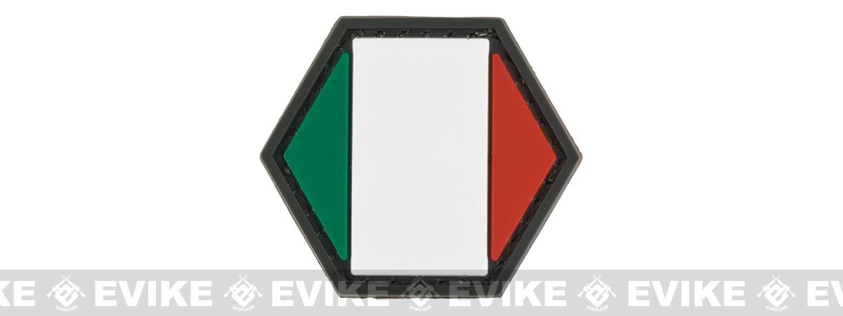 Operator Profile PVC Hex Patch Flag Series (Country: Italy)