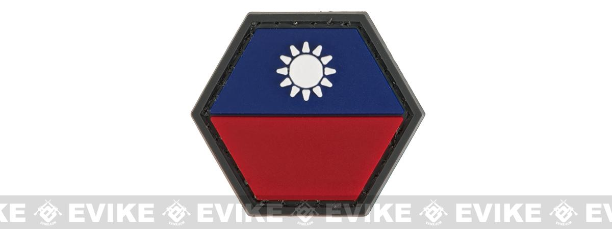 Operator Profile PVC Hex Patch Flag Series (Country: Taiwan)