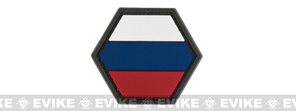 Operator Profile PVC Hex Patch Flag Series (Country: Russia)