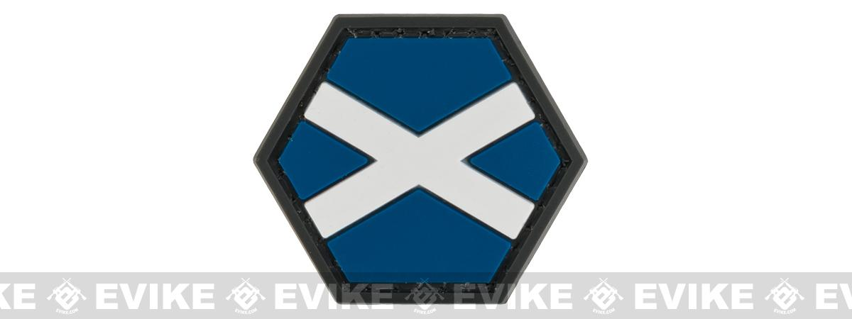 Operator Profile PVC Hex Patch Flag Series (Country: Scotland)