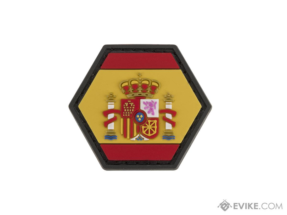 Operator Profile PVC Hex Patch Flag Series (Country: Spain)