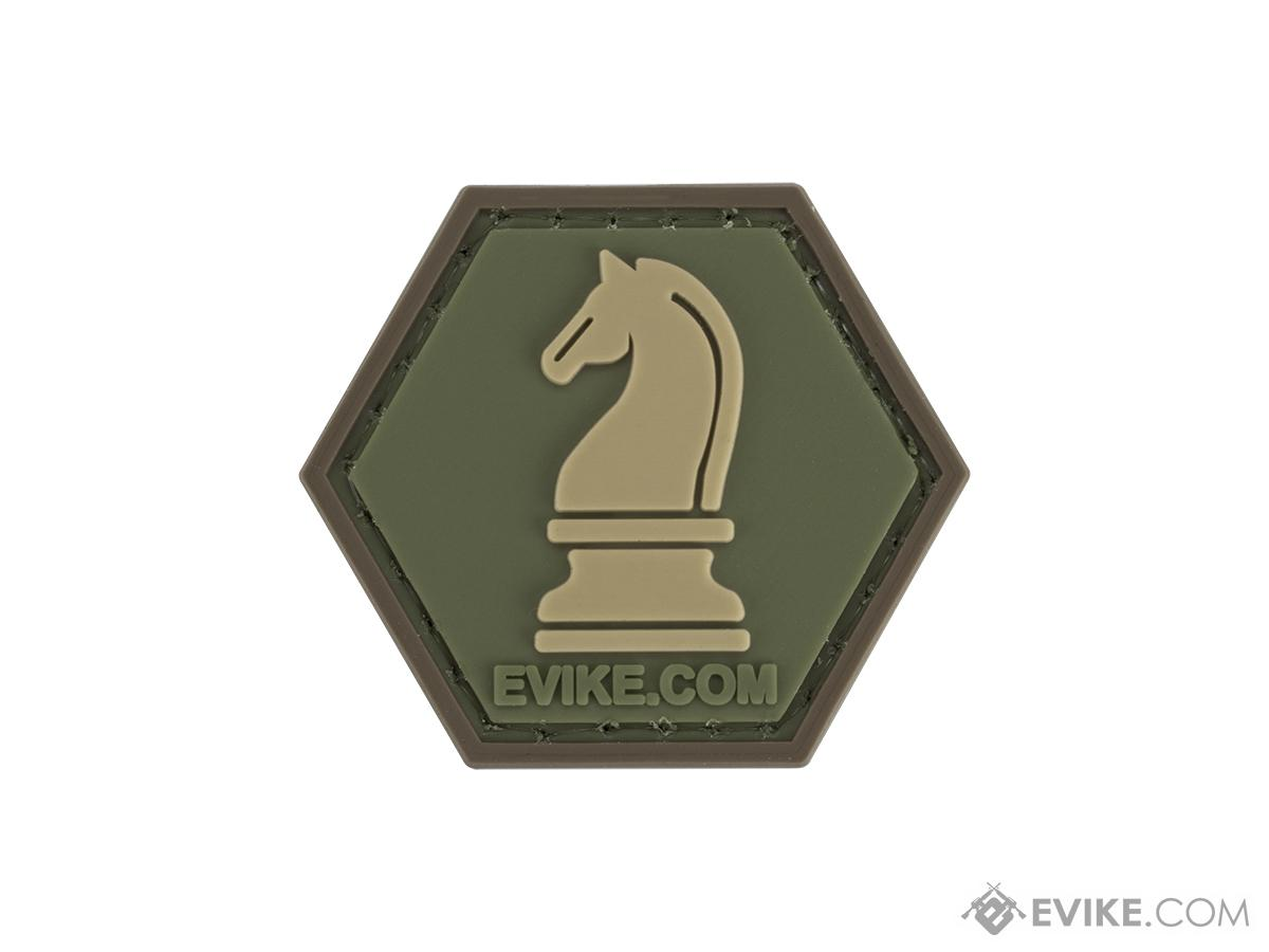 Operator Profile PVC Hex Patch  Chess Series (Piece: Knight / OD Green)
