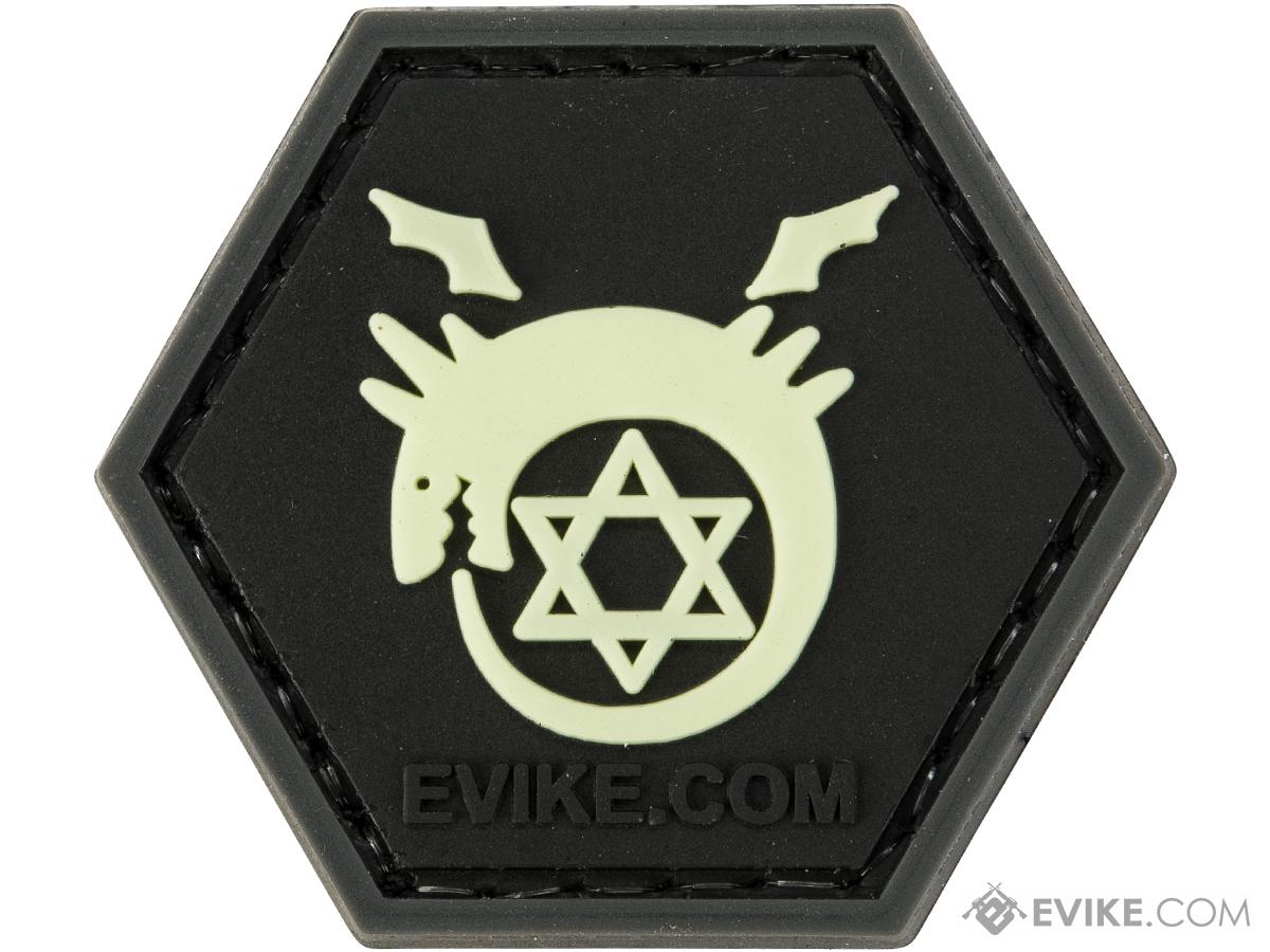Operator Profile PVC Hex Patch Anime Series 1 (Style: Glow In The Dark - Ouroboros)