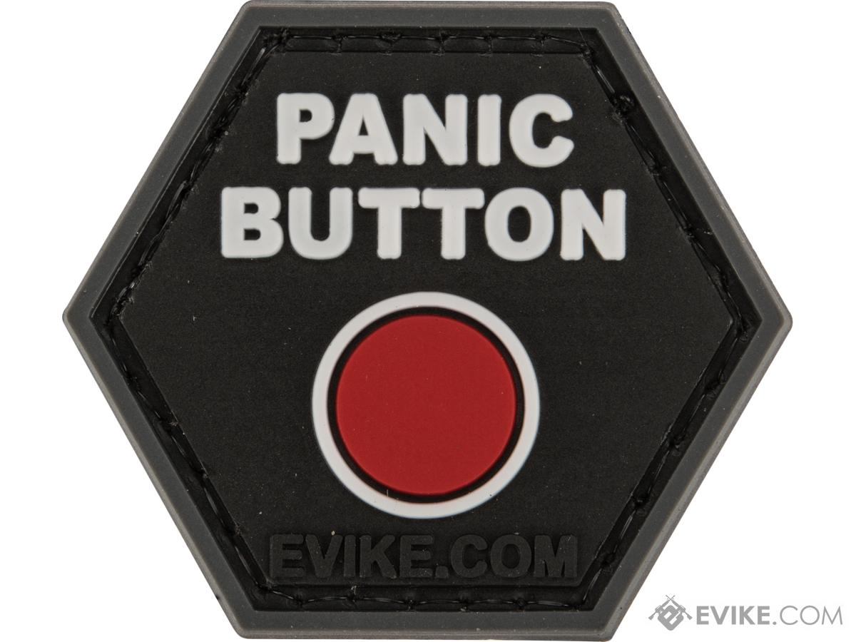 Operator Profile PVC Hex Patch Catchphrase Series (Style: Panic Button)