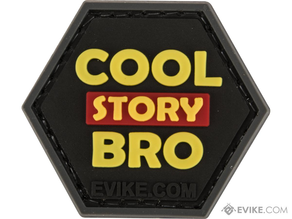 Operator Profile PVC Hex Patch Pop Culture Series (Style: Cool Story Bro / Yellow)