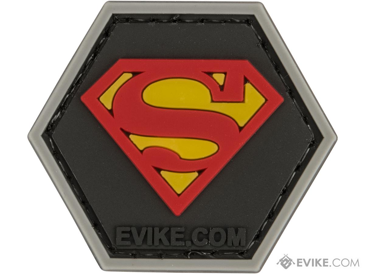Operator Profile PVC Hex Patch  - Man of Steel