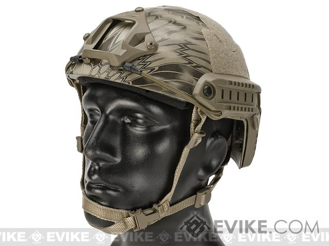 Emerson Bump Type Tactical Airsoft Helmet (Type: MICH Ballistic / Advanced / Kryptek Highlander / Medium - Large)