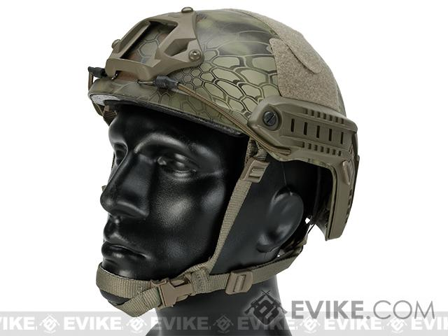 Emerson Bump Type Tactical Airsoft Helmet (Type: MICH Ballistic / Advanced / Kryptek Mandrake)
