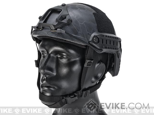 Emerson Bump Type Tactical Airsoft Helmet (Type: MICH Ballistic / Advanced / Kryptek Typhon / Medium - Large)