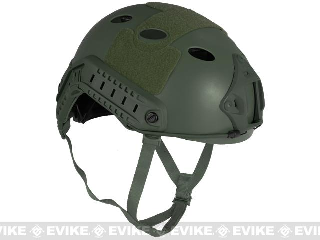 Matrix Bump Type Tactical Airsoft Helmet (Type: PJ / Advanced / OD Green / Medium - Large)