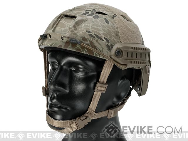 Emerson Bump Type Tactical Airsoft Helmet (Type: BJ / Advanced / Kryptek Highlander / Medium - Large)