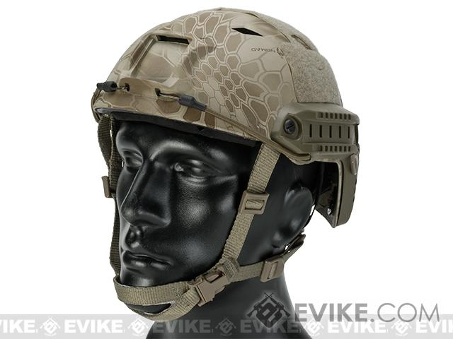 6mmProShop Bump Type Tactical Airsoft Helmet (Type: BJ / Advanced / Kryptek Nomad / Medium - Large)
