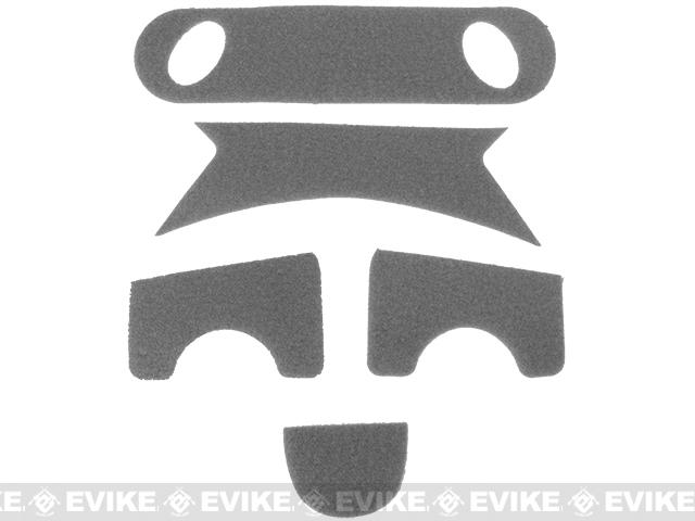 Emerson Hook and Loop  Adhesive Strips for PJ Type Bump Helmets - Foliage Green
