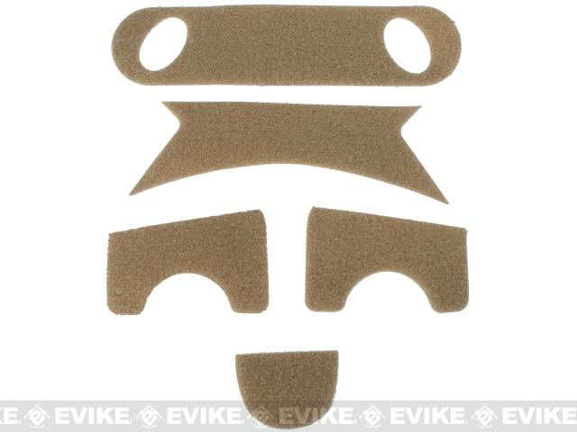 Emerson Hook and Loop Adhesive Strips for PJ Type Bump Helmets - Tan