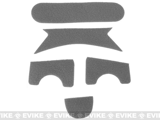 Emerson Hook and Loop Adhesive Strips for MICH Type Helmets - Foliage Green