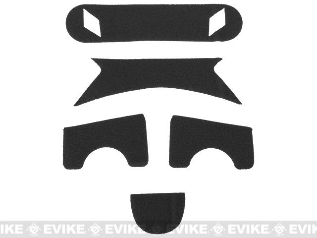 Emerson Loop Adhesive Strips for BJ Type Bump Helmets - Black