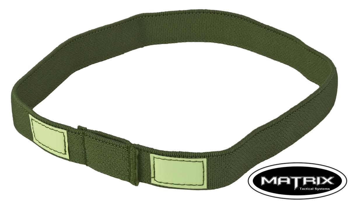 Matrix Reflective Helmet Cat Eye Band (Color: OD Green)