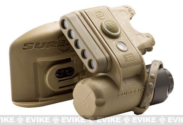 Surefire HL-1C Helmet Light Kit for MICH Helmets - Tan