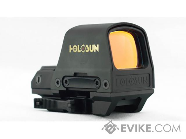 HOLOSUN HS510C Solar / Battery Powered Open Reflex Sight w/ Dual Reticles