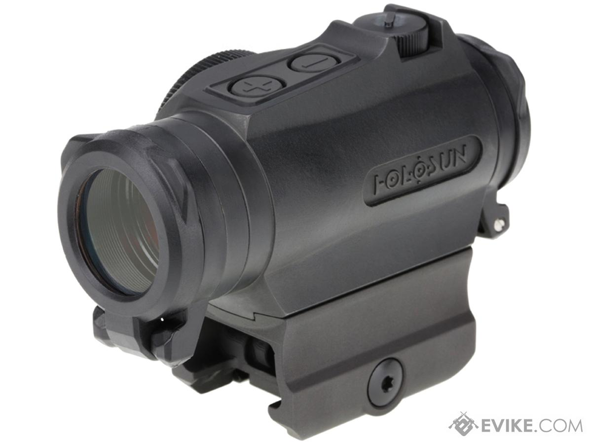 HOLOSUN HE515GT Shake Awake CNC Titanium Compact Green Dot Circle Sight w/ QD Mount & Kill Flash