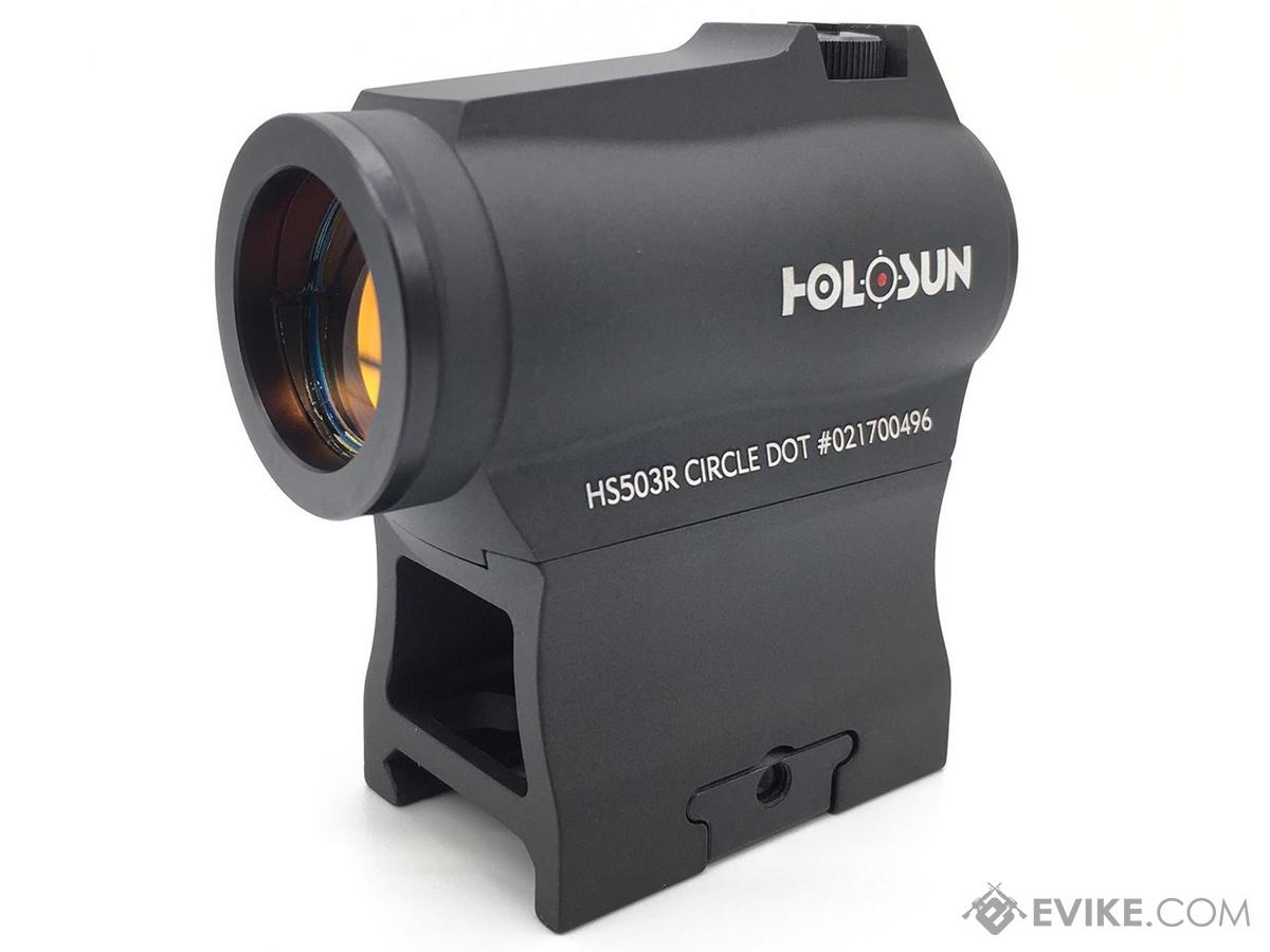 HOLOSUN HS503R Compact Red Dot Sight w/ Rotary Brightness Switch