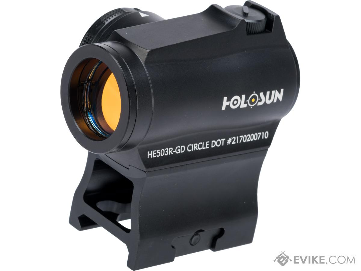 HOLOSUN HE503R Circle Dot Sight w/ Gold Reticle