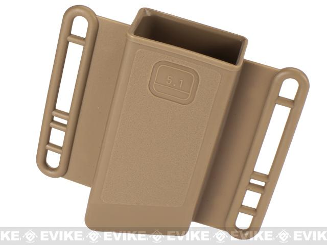 Avengers Mag Holster for Airsoft 5.1 Hi-Capa (Double Stack) Series Magazines - Set of 2 (Color: Tan)