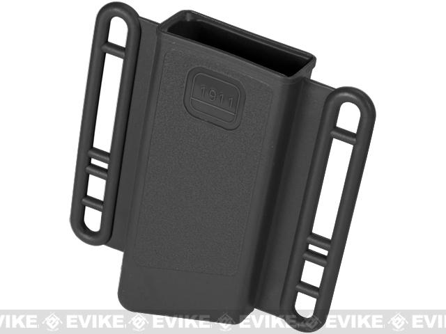 Avengers Mag Holster for Airsoft 1911 (Single Stack) Series Magazines - Set of 2 (Color: Black)