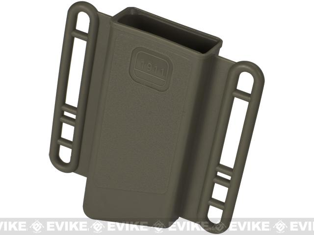Avengers Mag Holster for Airsoft 1911 (Single Stack) Series Magazines - Set of 2 (Color: OD Green)