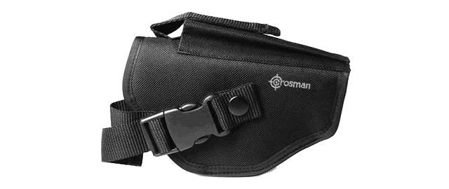 Tactical Belt Holster with integrated magazine pouch - Back