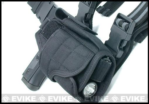 Matrix Tornado Universal Tactical Thigh / Drop Leg Holster - Black