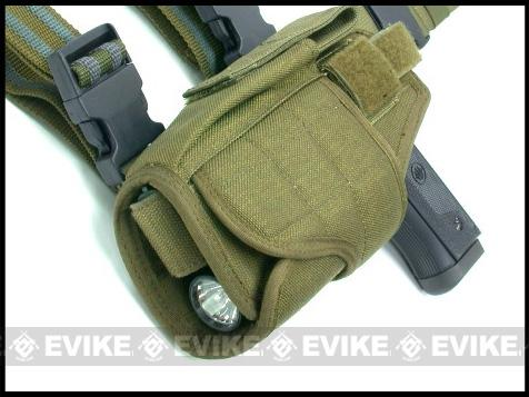 Matrix Tornado Universal Tactical Thigh / Drop Leg Holster (Color: Tan / Left)