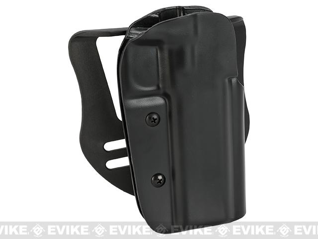 Blade-Tech OWB Holster w/ Paddle - STI 2011 Edge (Right Hand - Black)