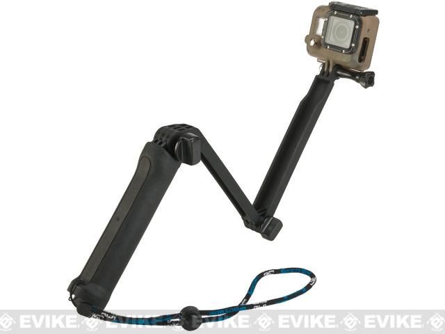 TMC Adjustable Extension Arm for GoPro Action Cameras - Black