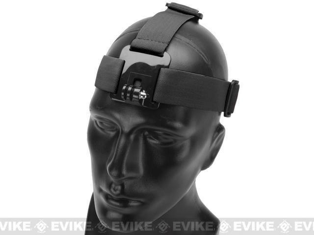HERO Gear Adjustable Headband Mount for GoPro Wearable Cameras - Black