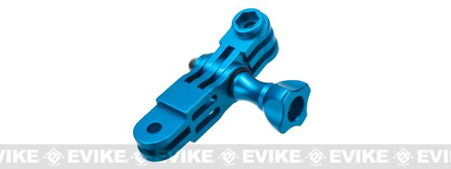 HERO Gear Anodized Aluminum Mount Linkage for GoPro Wearable Cameras - Blue