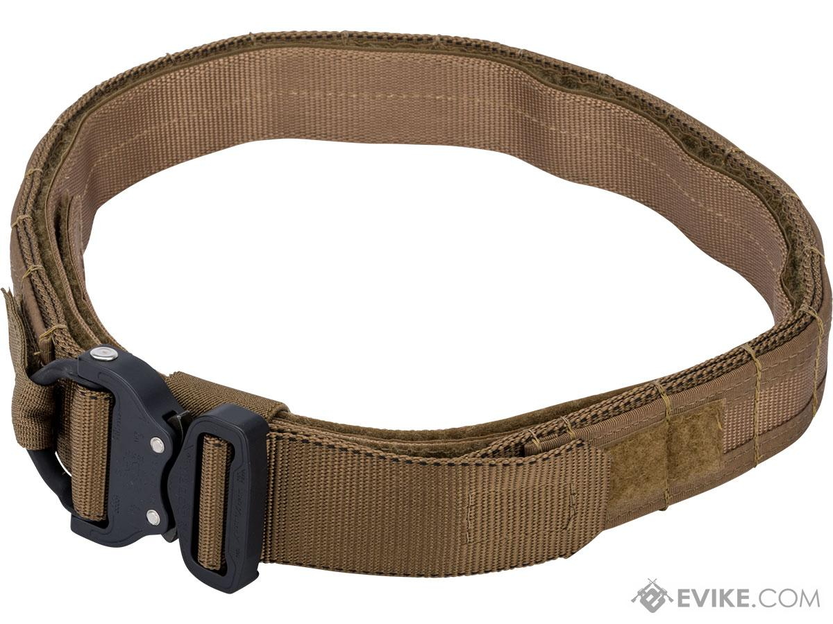 HSGI 1.75 Operator Belt w/ Cobra Buckle and Inner Belt (Color: Coyote Brown / Large)