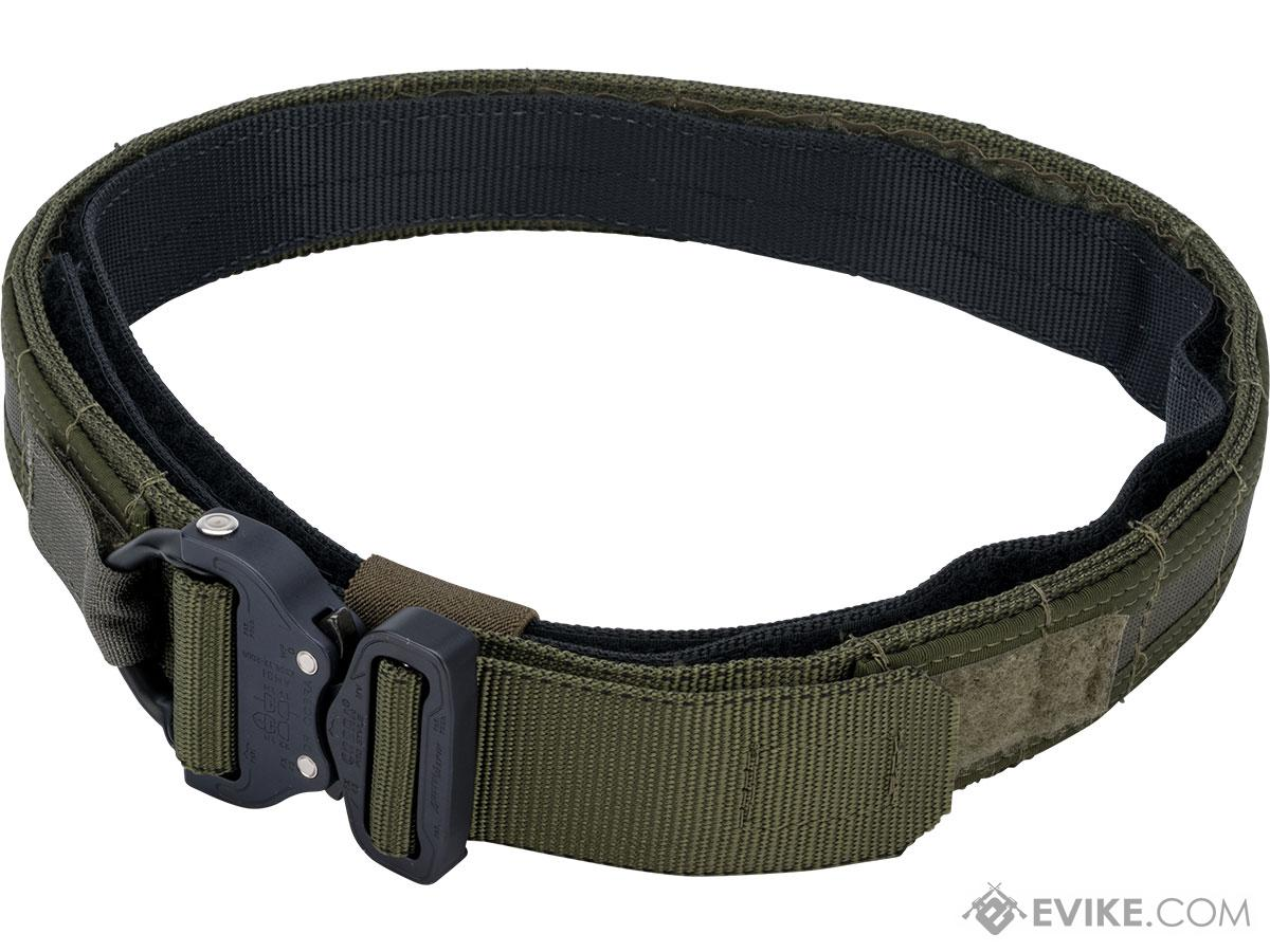 HSGI 1.75 Operator Belt w/ Cobra Buckle and Inner Belt (Color: OD Green / Small)