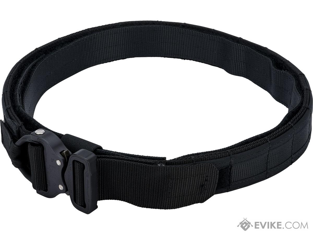 HSGI 1.75 Operator Belt w/ Cobra Buckle and Inner Belt (Color: Black / Medium)