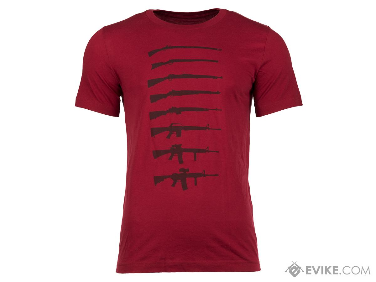Haley Strategic Partners HSP Evolution Tee - Red (Size: Medium)