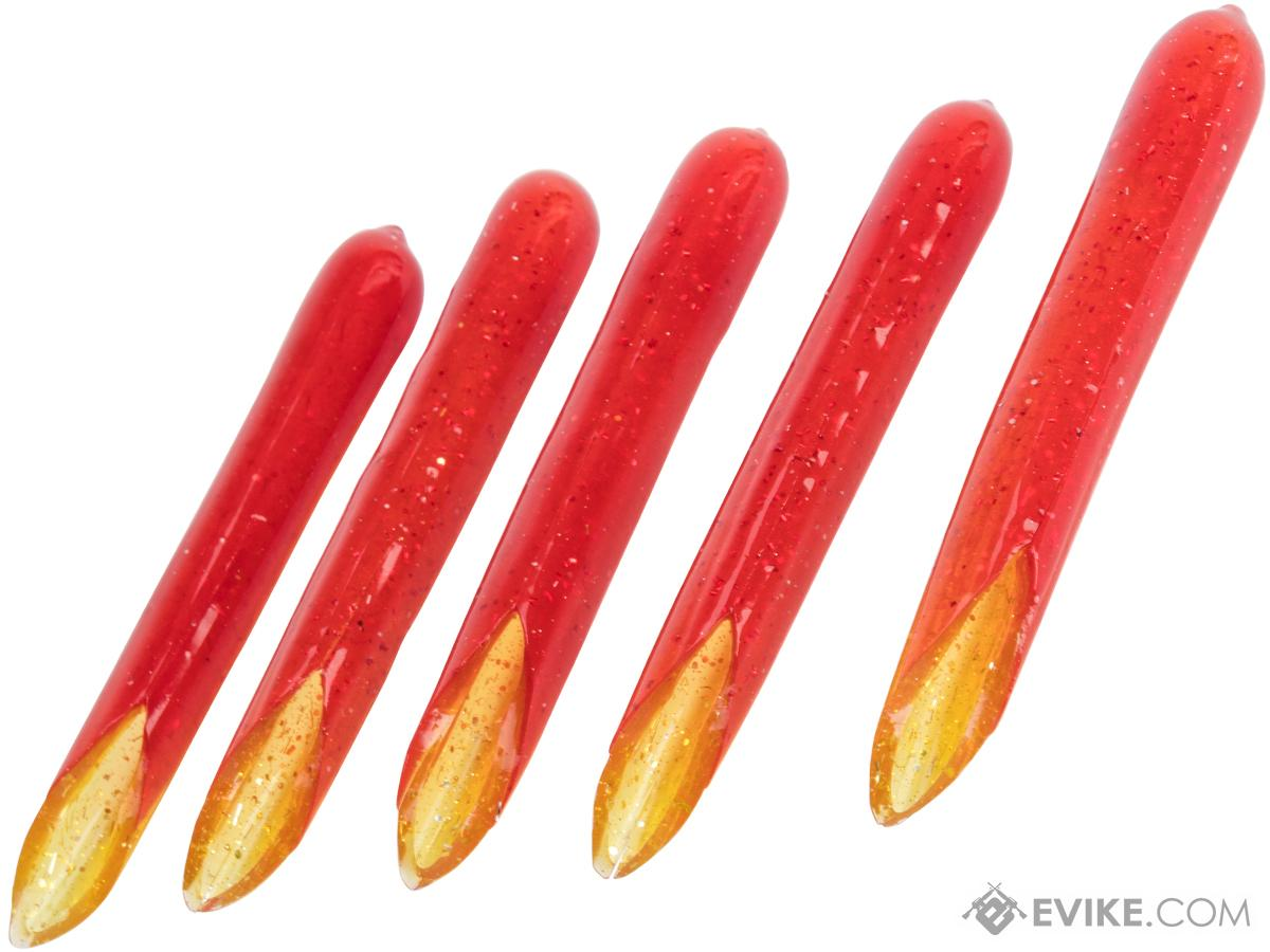 Hook Up Baits Hand Crafted Replacement Bodies for Jigs (Color: Red Crab / Big Game)