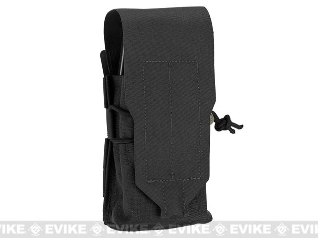 Blue Force Gear Ten-Speed Single Stack Double M4 Mag Pouch - Black