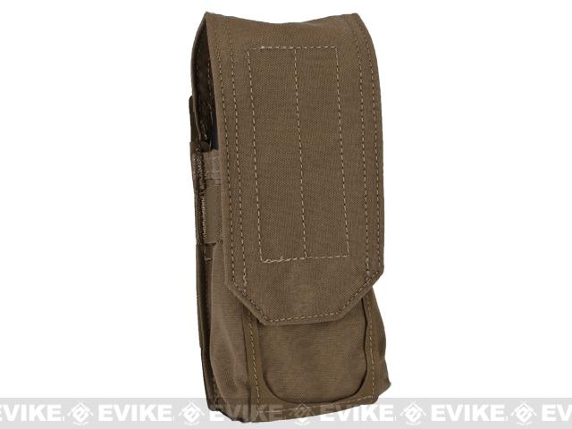 Blue Force Gear Ten-Speed Single Stack Double M4 Mag Pouch - Coyote Brown